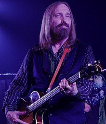 Thomas Earl Petty[1] (October 20, 1950 – October 2, 2017) was an American musician, singer, songwriter, multi instrumentalist and record producer. He was best known as the lead singer of Tom Petty and the Heartbreakers, but was also a member and co-founder of the late 1980s supergroup the Traveling Wilburys, and his early band Mudcrutch.