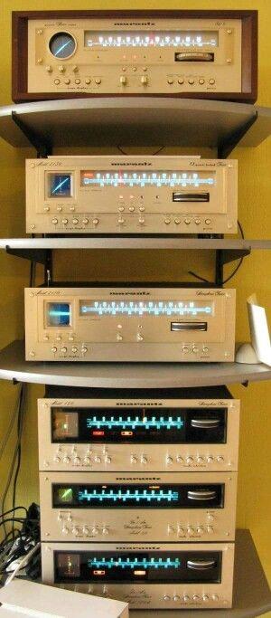 Marantz Vintage Audio Stereo Hi Fi