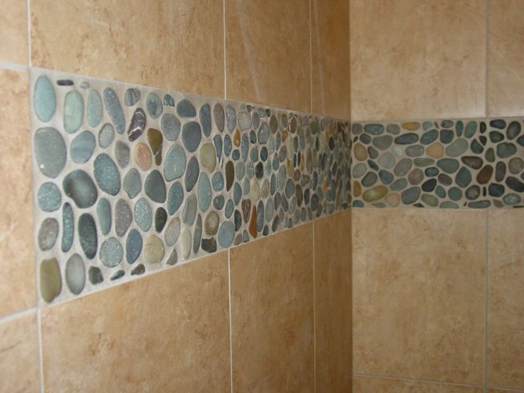 river rock tile grout shows too much solution jerry 39 s bathroom re