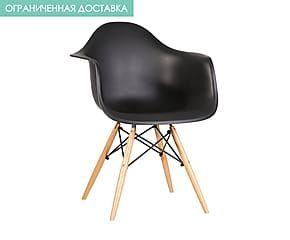 Кресло - абс-пластик - черный - В79,Д45,Ш62