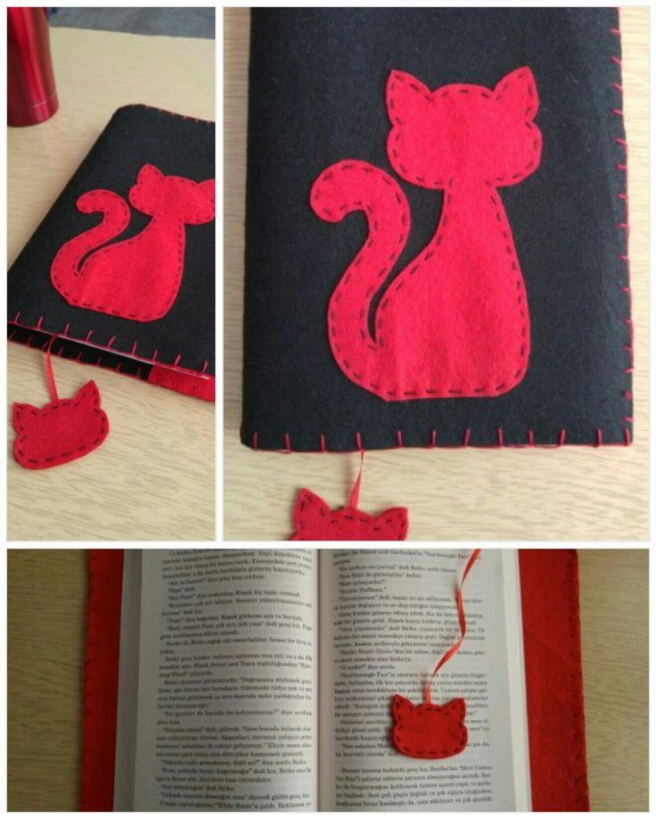 kedi kitap kılıfı
