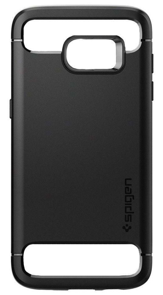 detailed look a8b71 53288 Spigen Galaxy S7 Edge Case Rugged Armor Black   Best Buy Cyprus ...