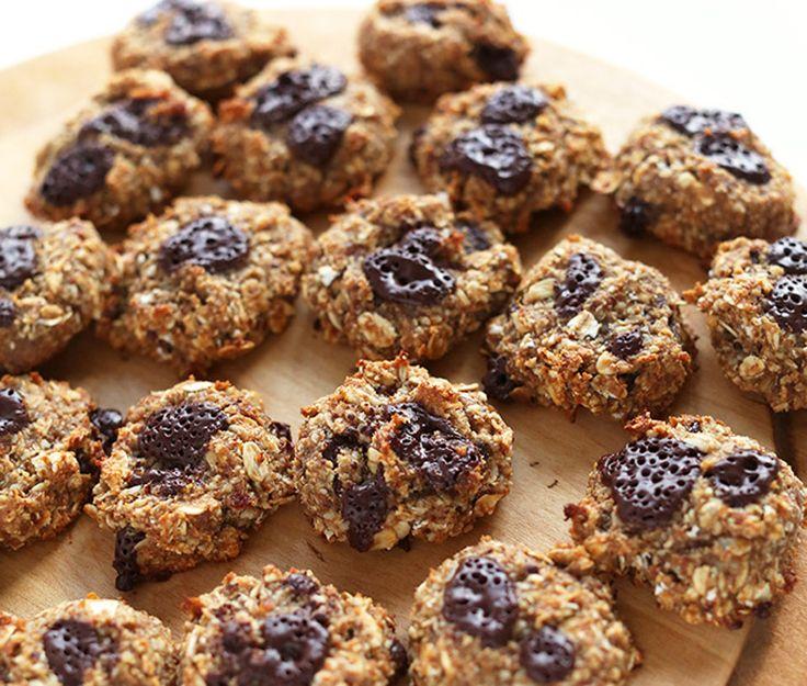 5 INGREDIENT VEGAN GLUTEN FREE COOKIES - Веганское безглютеновое печенье из пяти ингредиентов:  вкусно и полезно!