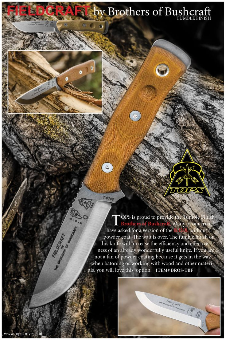 FIELDCRAFT by Brothers of Bushcraft.   Fieldcraft, BROS, B.O.B. no matter what you call it this is one of the best bushcraft knives you can buy!