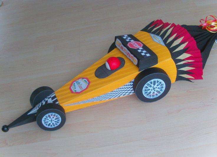 Schultüte Rennauto, Formel 1 Junge Version 15 von Jeanetts_Creativ_Stube auf DaWanda.com