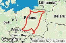 АВТОТУРИСТ. Кольцевой маршрут по Польше. Срок поездки 10-14 дней.