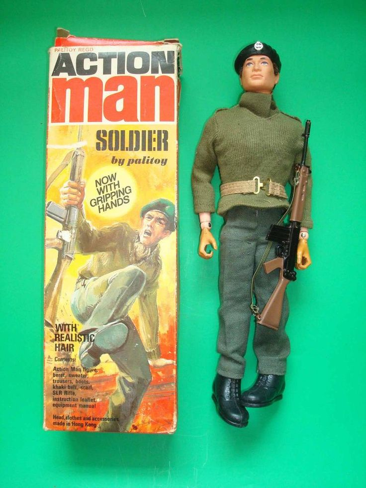 Action Man: not strictly mine as I would 'borrow' it from my younger brother to role play with my Sindy doll.