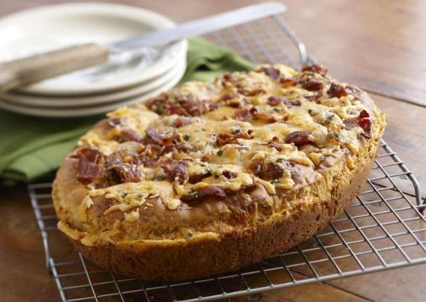Asiago Bacon Breakfast Bread