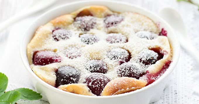 Clafoutis aux fraises   Cuisine AZ