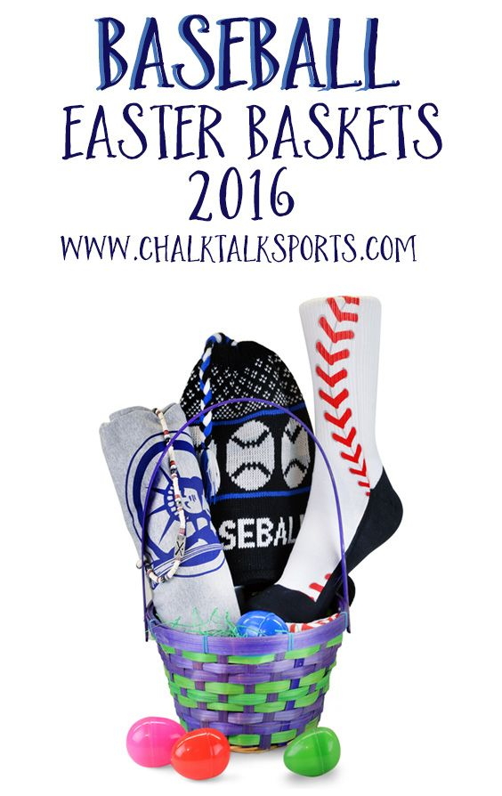 81 best sports easter baskets images on pinterest athlete easter these new for 2016 baseball easter baskets are a great way to celebrate easter with your favorite baseball players or fans negle Images