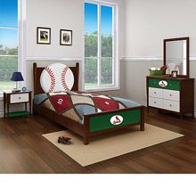 Louis Cardinals Twin Bed
