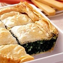 Spinach Pie Greek Spanakopita -