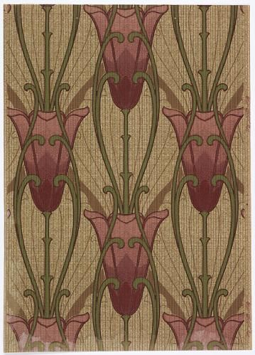 Beautiful Art Nouveau pattern                              …