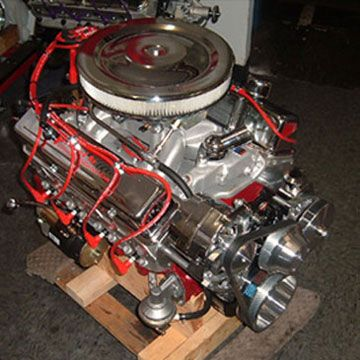 383 chevy stroker full roller engine with 500hp for the