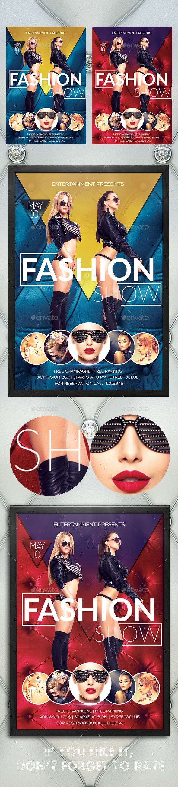 Fashion Show Flyer Template PSD. Download here: http://graphicriver.net/item/fashion-show/15300061?ref=ksioks