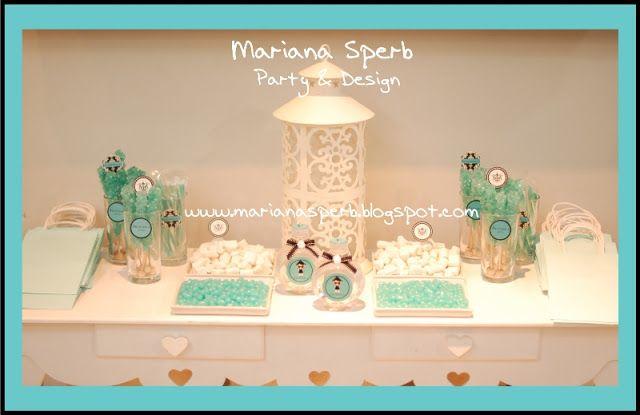 Mariana Sperb: Festa Infantil Tiffany Bonequinha de Luxo