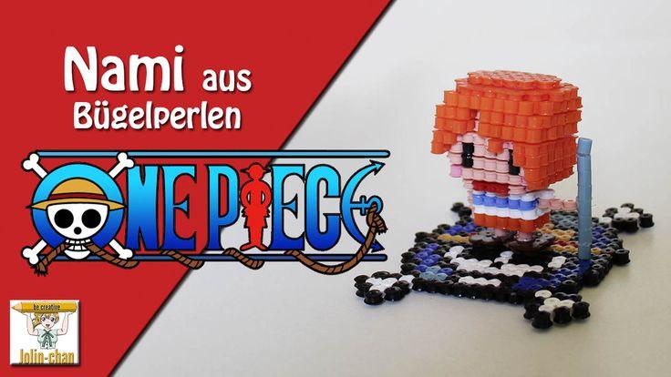 3D Nami from One Piece Perler Bead Figure