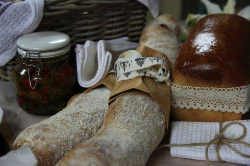 Bread baked in the Kokkedoor kombuis.