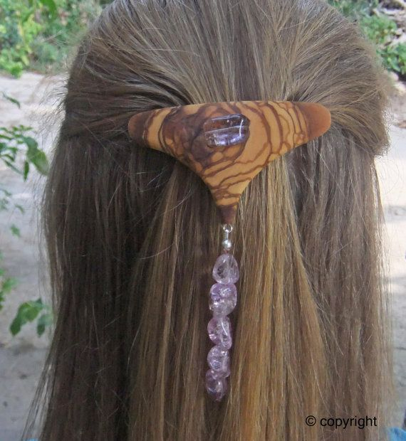 Fashion Week  Hair Barrette hand made from by ellenisworkshop