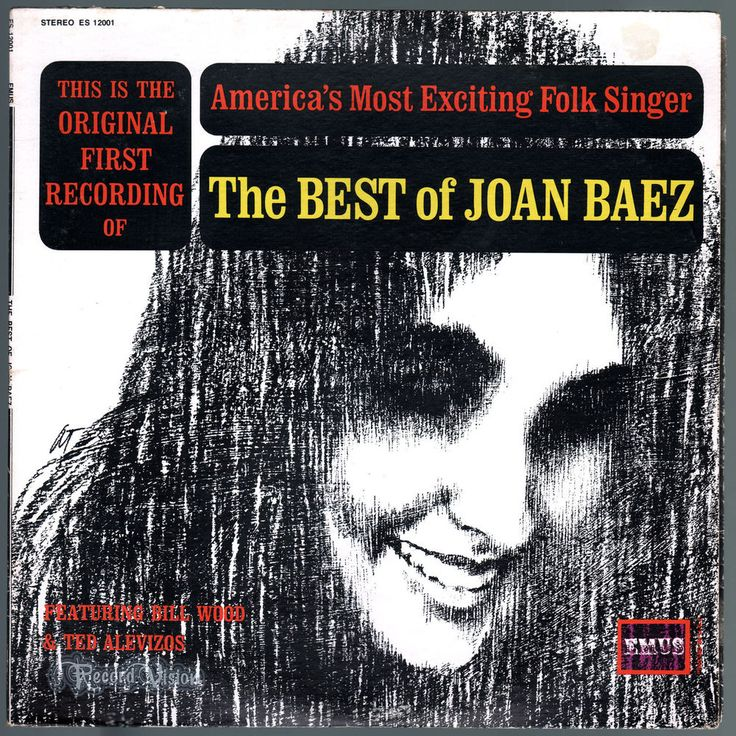 """Originally released as """"Folksingers 'Round Harvard Square,"""" this was the first album featuring #Joan #Baez. The album was recorded by Stephen Fassett in Boston, May 1959 with #JoanBaez, #BillWood and #TedAlevizos. In 1963, an reissue of the album was released as #The #Best of #JoanBaez. #folk #Vinyl #LP"""