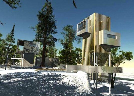 135 Best Images About Treehouse Lodging, Glamping, And Other Odd ... Das Magische Baumhaus Von Baumraum