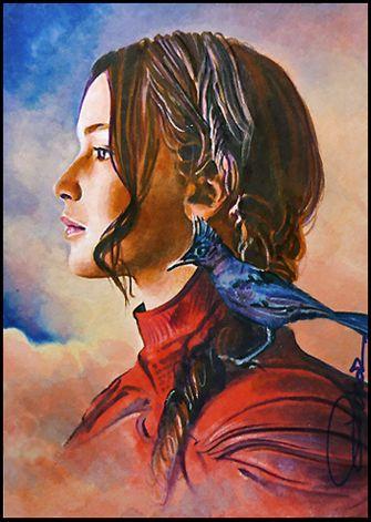 The Mockingjay by DavidDeb.deviantart.com on @DeviantArt