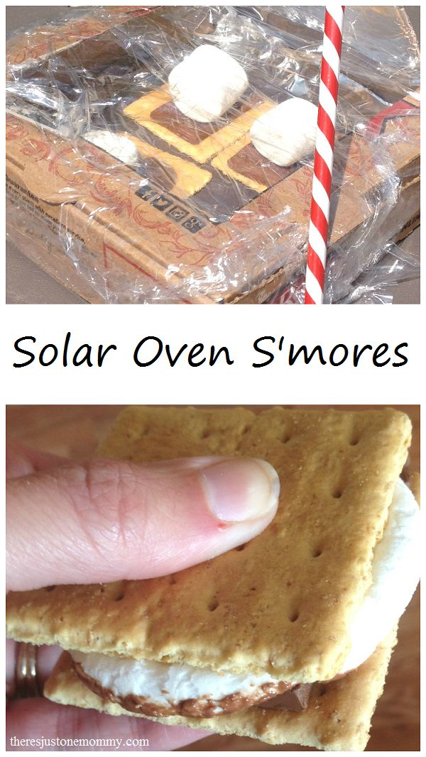 Camp Craft: Make Solar Oven S'mores this summer!