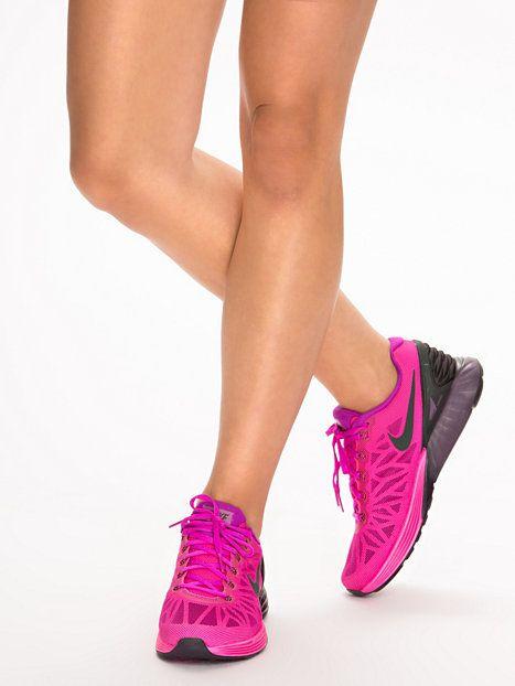 Womans Nike Lunarglide 6 - Nike - Fuchsia - Skor Löpning - Sportkläder - Kvinna - Nelly.com