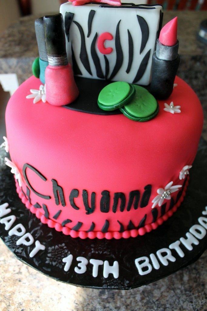 Best Birthday Cake Ideas Images On Pinterest Birthday Party - Spa birthday party cake
