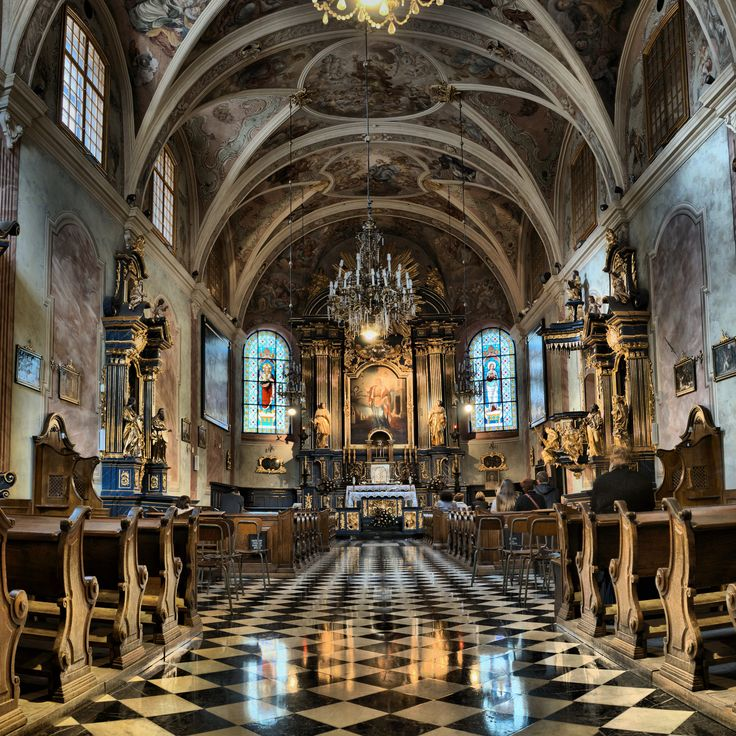 https://flic.kr/p/yhWKbV | St. Barbara Church, Kraków | XIV gothic church with XVIII century interior