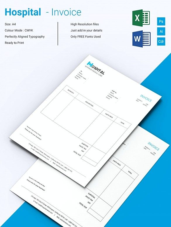 577 best invoice template images on Pinterest Invoice template - subcontractor invoice template