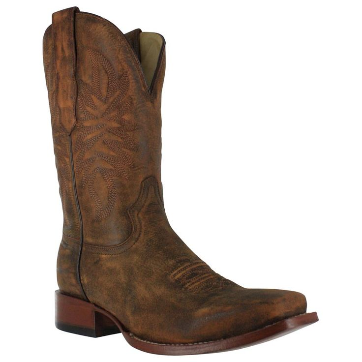 Corral Men's Distressed Goat Rancher Boots