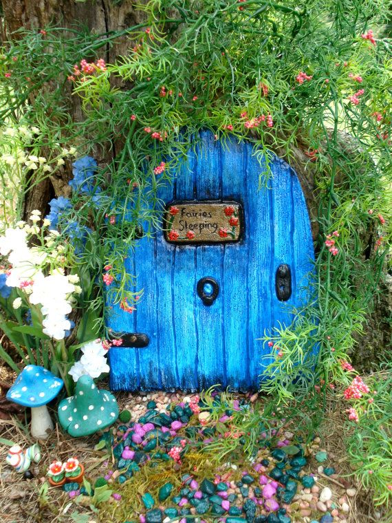 Large Fairy Door - Mrs Odina Nights Fairy dormitory. She allows the travelling fairy to stop by and sleep over before they continue on their