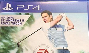 CHELSEA goalkeeper ASMIR BEGOVIC unveils surprise new cover star of Rory McIlroy PGA Tour golf game: himself!