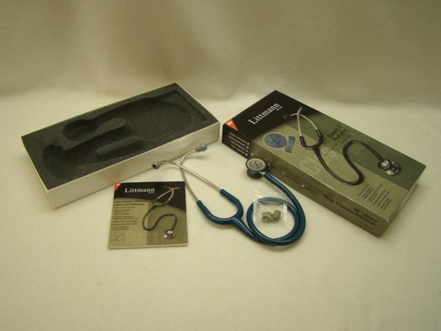 "3M Littman Classic II Pediatric Stethoscope in Caribbean Blue 28"""