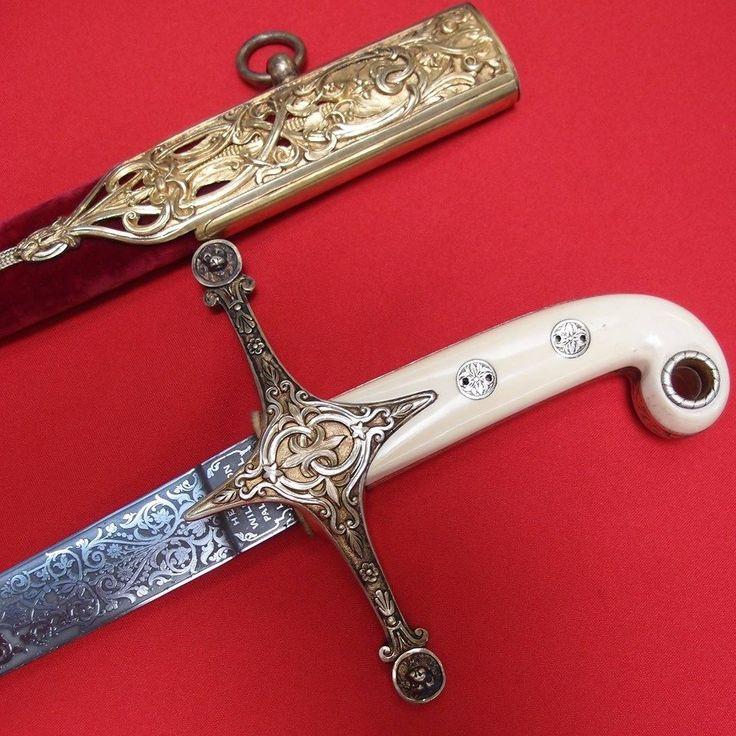 1862 British Mameluke Presentation Sword Cold Steel