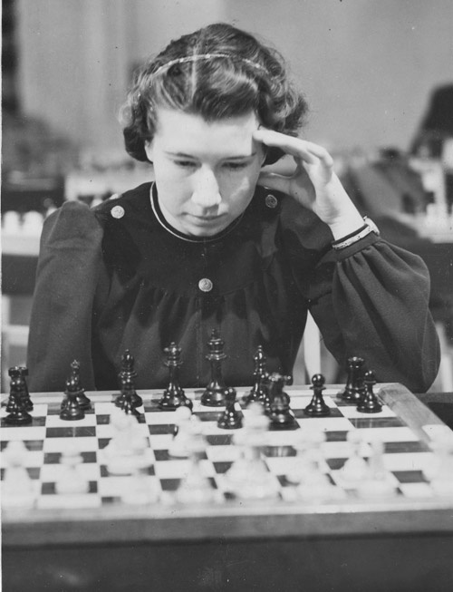 Soviet chessplaying girl power.