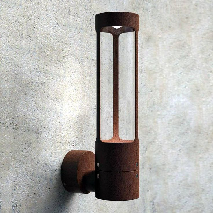 Create ambiance in a space of your choice with this beautiful, industrial style IP54 rated wall light for outside or bathroom use.