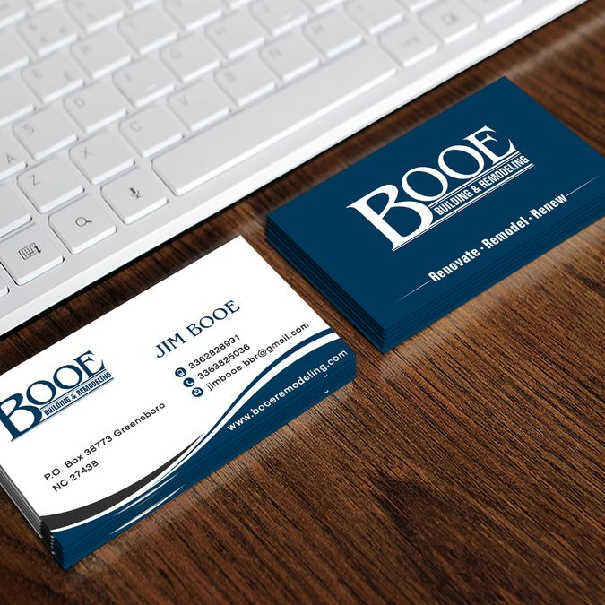 Create a new enticing business card for Booe! by oeingArtMindZ