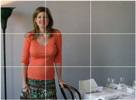 Perhaps the most well known principle of photographic composition is the 'Rule of Thirds'.  http://digital-photography-school.com/rule-of-thirds/