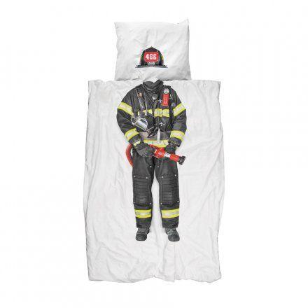 Snurk Bettwäsche Firefighter Flanell