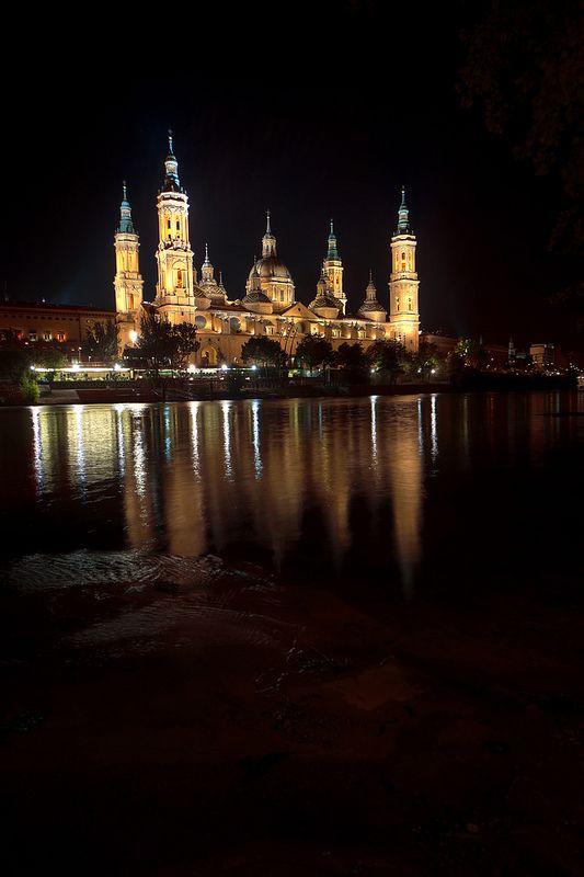 Reflejos dorados, Zaragoza, Aragon, Spain