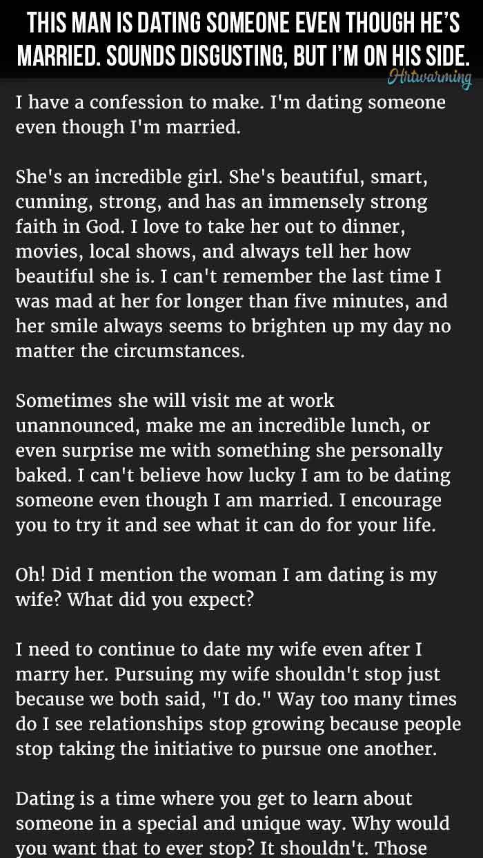Man Dating Even Though He s Married To Medicine