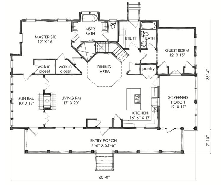 the tnh lc 39a house plan by moser design group house