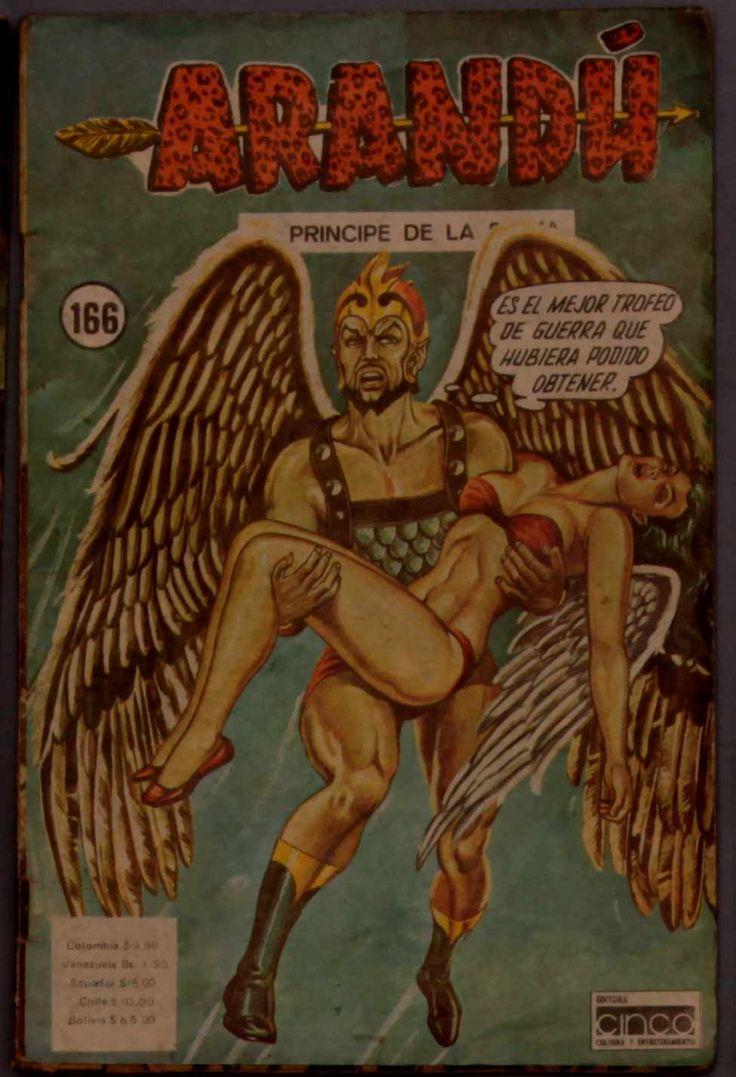 Arandu Colombian Comic