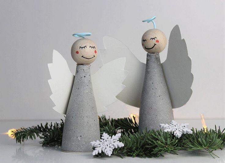 Was wäre Weihnachten ohne Engel als DIY Deko? Aus diesem Grund zeige ich dir be…