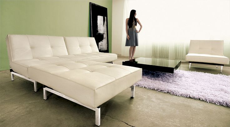Multi-functional sofa/sleeper and ottoman/chair/chaise - Scan Design