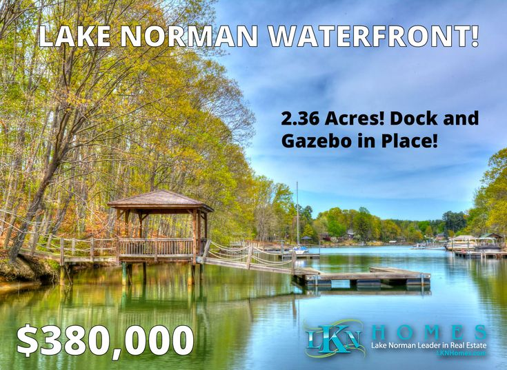 LAKE NORMAN WATERFRONT WITH DOCK ALREADY IN PLACE IN WEBBS CHAPEL COVE!    2.36 Acres, Dock and Gazebo in place.     Great Price! Beautiful Gated Community of Webbs Chapel Cove! 2.36 Acres! Has Gazebo in Place as Well! Bring Your Own Builder & Build When You Are Ready!     See more at http://lknhomes.com/lot-16-webbs-chapel-cove-court-denver-nc-28037/    #DenverNC #Denver #Waterfront #Lakefront #LKN #LakeNorman #LandforSale #LotforSale #ListingAgent #LKNHomes #CLT #CharlotteNC