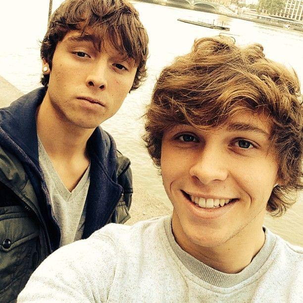 Wesley and Keaton Stromberg #emblem3