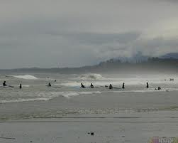 Long Beach at Tofino, BC  It was grey and misty when I was here...looking out and hoping to spot Japan!